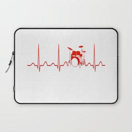 DRUMS HEARTBEAT Laptop Sleeve
