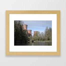 The Ironbridge Power Station Framed Art Print