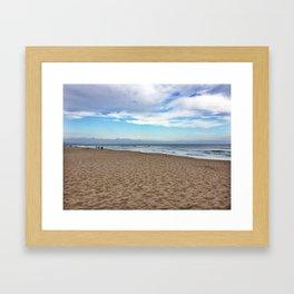 Jeffrey's Bay Framed Art Print