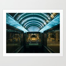 MCO - Orlando International Airport Art Print
