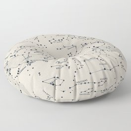 Carte du Ciel II Floor Pillow