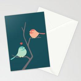 Lovebirds Three Stationery Cards