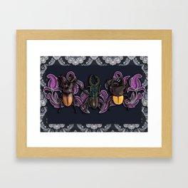 TRILOGY BEETLES III Framed Art Print