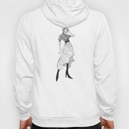 Street Fashion Illustration Hoody