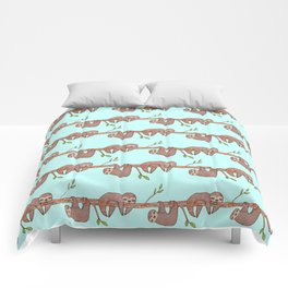 Lazy Baby Sloth Pattern Comforters