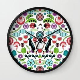 Scandinavian Inspiration (White) Wall Clock
