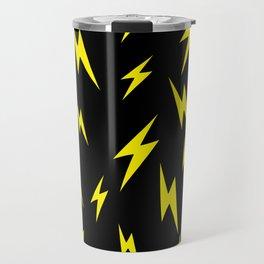 Lightning bolt pattern Travel Mug