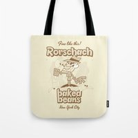 rorschach Tote Bags featuring Rorschach by Giovanni Costa