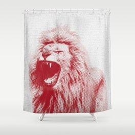 Lion 01 Shower Curtain