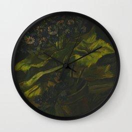 Cineraria's (1885) by Vincent van Gogh  Wall Clock