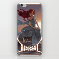 1989 iPhone & iPod Skins featuring NOUVEAU 1989 by Lettie Bug