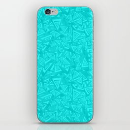 Teal Tears iPhone Skin