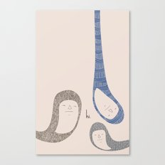 HI. Canvas Print