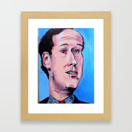 Taliban Republican: Rick Santorum Framed Art Print