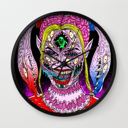 Bad Girl Monster Wall Clock