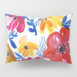 flowers, three colors Pillow Sham