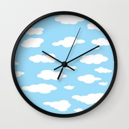 couds Wall Clock
