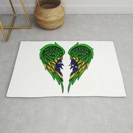 Brazilian wings art Rug