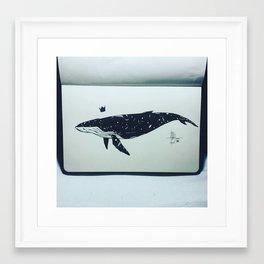 Whaleverse Framed Art Print