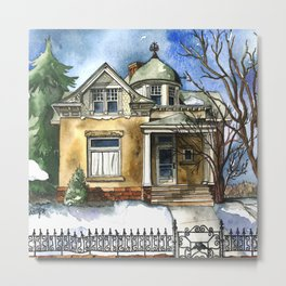 The Little Brown Bungalow Metal Print