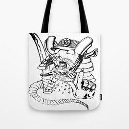 Rat Warrior Tote Bag