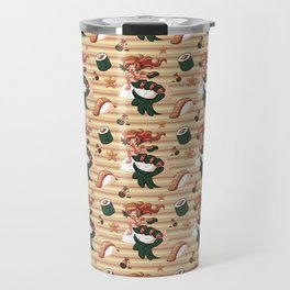 Mermaid Sushi Travel Mug
