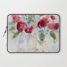 Roses (watercolor and ink) Laptop Sleeve