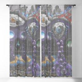 Inner visual acuity Sheer Curtain