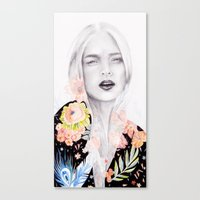 oriental Canvas Prints featuring Oriental by naranjalidad