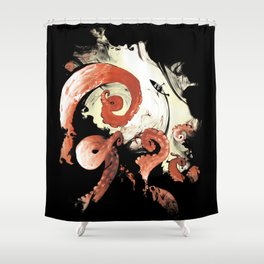 Ink Escape Shower Curtain