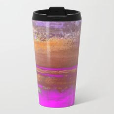 Pink Color Patches Travel Mug