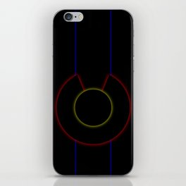 Glowrayrado iPhone Skin
