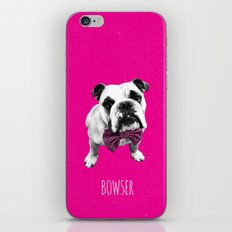 Pink Bowser iPhone & iPod Skin