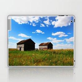 Barns on the Canadian Prairie Laptop & iPad Skin