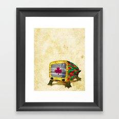 Mr. Morrocoy Framed Art Print
