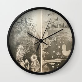 Under The Sea. Some things are better down where it's wetter take it from me Wall Clock