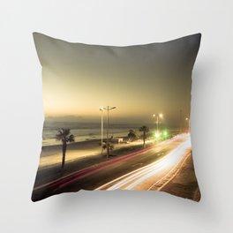 Urban twilight Throw Pillow