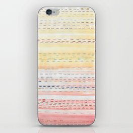 Sunset Stitch iPhone Skin