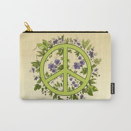 Flower of Pacific Carry-All Pouch