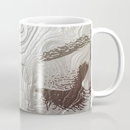 Silver and lashed glam Coffee Mug