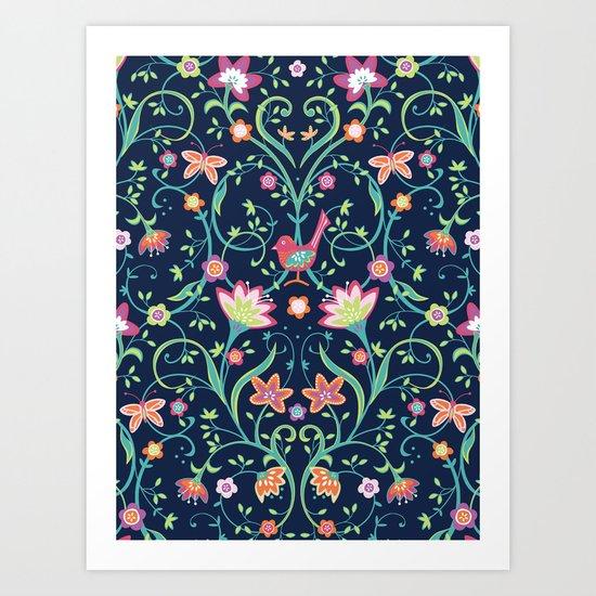 Flowering Love Art Print