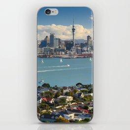 Auckland city New Zealand landscape iPhone Skin