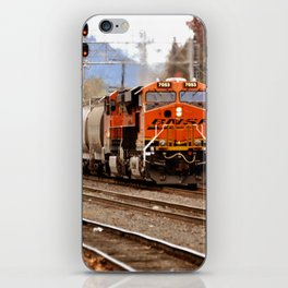 TRAIN YARD iPhone Skin