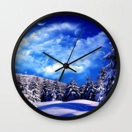 Nature Diversity XVII Wall Clock