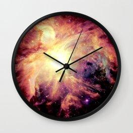 neBUla Colorful Warmth Wall Clock