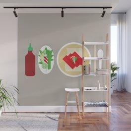 Sriracha Meal Wall Mural