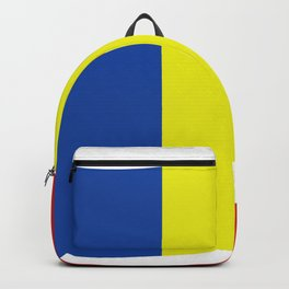 romania flag Backpack