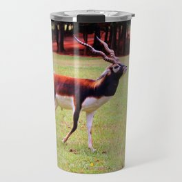 Male Blackbuck Travel Mug