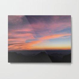 Bend Sunset Metal Print
