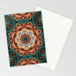 Coleção mandalas: abundância Stationery Cards